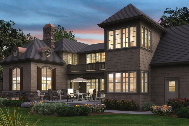 Architectural House Design - Traditional Exterior - Other Elevation Plan #48-244