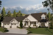 Traditional Style House Plan - 5 Beds 5.5 Baths 4736 Sq/Ft Plan #17-3430