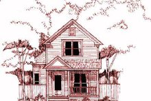 Dream House Plan - Cottage Exterior - Front Elevation Plan #79-152