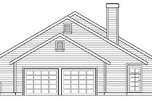House Design - Ranch Exterior - Other Elevation Plan #124-273