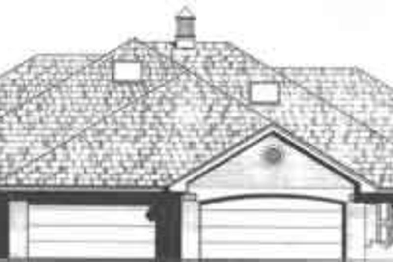 Traditional Exterior - Front Elevation Plan #310-455 - Houseplans.com