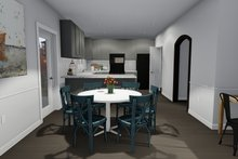Dream House Plan - Traditional Interior - Dining Room Plan #1060-7