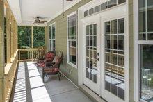 House Plan Design - Farmhouse Exterior - Covered Porch Plan #929-1044