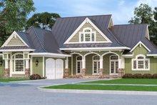 House Design - Craftsman Exterior - Front Elevation Plan #45-586