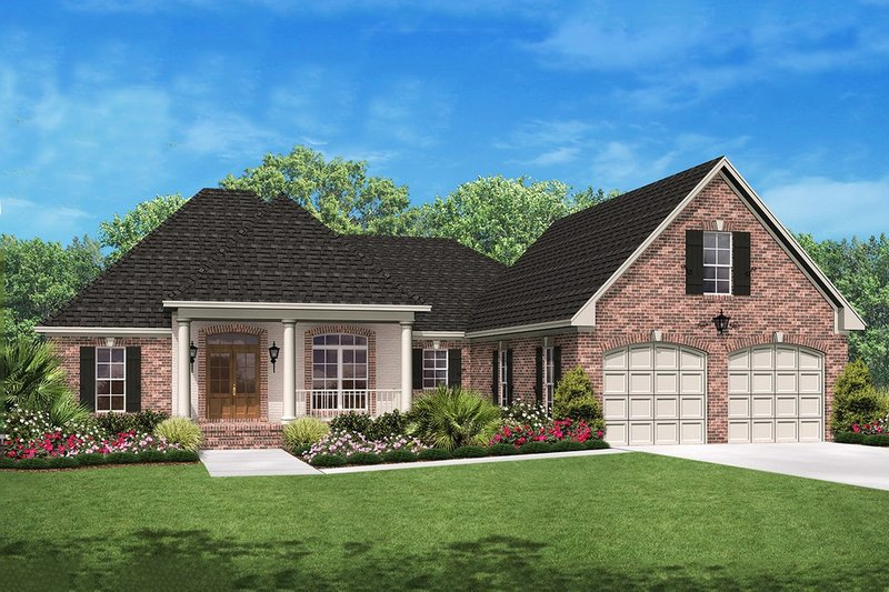 Dream House Plan - 2000 square foot Traditional home
