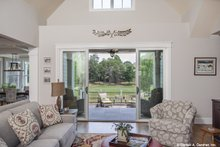 Architectural House Design - Craftsman Interior - Family Room Plan #929-988