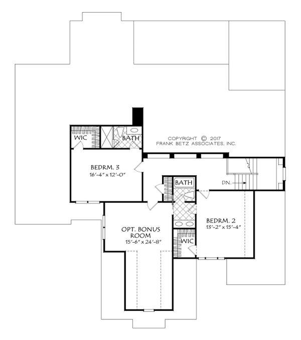 Dream House Plan - Craftsman Floor Plan - Upper Floor Plan #927-991