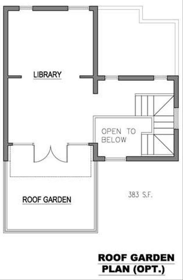 Modern Floor Plan - Other Floor Plan Plan #512-2