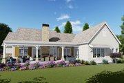 Farmhouse Style House Plan - 3 Beds 4 Baths 2593 Sq/Ft Plan #1069-19 Exterior - Rear Elevation