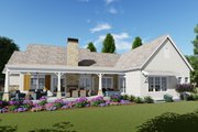 Farmhouse Style House Plan - 3 Beds 4 Baths 2593 Sq/Ft Plan #1069-19 Exterior - Rear Elevation