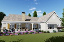 Farmhouse Exterior - Rear Elevation Plan #1069-19