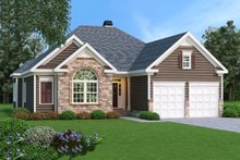 Dream House Plan - Traditional Exterior - Front Elevation Plan #419-153