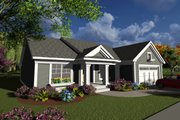 Ranch Style House Plan - 2 Beds 2 Baths 1540 Sq/Ft Plan #70-1237