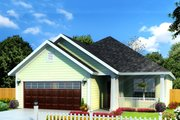 Cottage Style House Plan - 3 Beds 2 Baths 1491 Sq/Ft Plan #513-2086 Exterior - Front Elevation