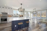 Farmhouse Style House Plan - 4 Beds 3.5 Baths 3445 Sq/Ft Plan #928-303 Interior - Kitchen