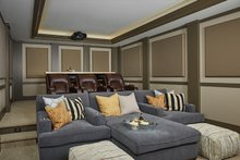 Home Plan - Optional Basement Home Theatre