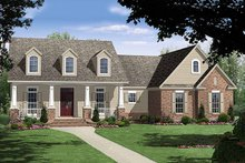 Dream House Plan - Country style Plan 21-196 front elevation