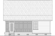 Country Style House Plan - 2 Beds 1 Baths 1297 Sq/Ft Plan #21-397 Exterior - Rear Elevation