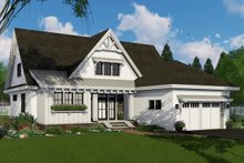 Home Plan - Farmhouse Exterior - Front Elevation Plan #51-1147
