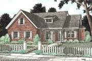 Traditional Style House Plan - 4 Beds 2 Baths 1694 Sq/Ft Plan #20-184