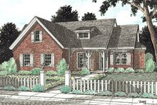 Home Plan - Traditional Exterior - Front Elevation Plan #20-184