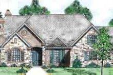 House Plan Design - European Exterior - Front Elevation Plan #52-179