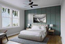 House Plan Design - Craftsman Interior - Master Bedroom Plan #1079-1
