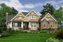 Dream House Plan - Craftsman Home Plan