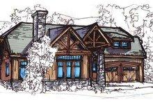 House Plan Design - European Exterior - Front Elevation Plan #17-2257