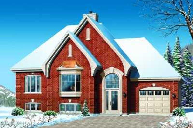Dream House Plan - European Exterior - Front Elevation Plan #23-365