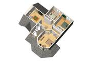 Victorian Style House Plan - 3 Beds 1 Baths 1705 Sq/Ft Plan #25-4700 Floor Plan - Upper Floor Plan