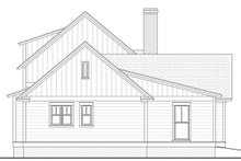Farmhouse Exterior - Rear Elevation Plan #1067-5