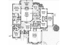 European Floor Plan - Main Floor Plan Plan #310-667