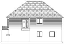 Dream House Plan - Ranch Exterior - Rear Elevation Plan #1060-42