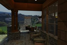 Craftsman Exterior - Covered Porch Plan #120-162