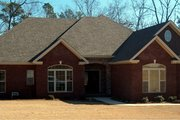 Traditional Style House Plan - 3 Beds 2.5 Baths 3309 Sq/Ft Plan #63-346 Exterior - Front Elevation