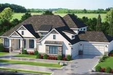 Dream House Plan - Craftsman Exterior - Front Elevation Plan #20-2338