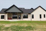 Farmhouse Style House Plan - 4 Beds 3.5 Baths 2742 Sq/Ft Plan #430-165 Exterior - Rear Elevation