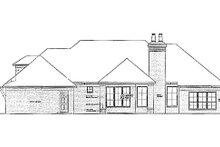 Home Plan - European Exterior - Rear Elevation Plan #310-965