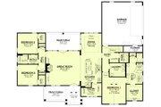 Farmhouse Style House Plan - 3 Beds 2.5 Baths 2249 Sq/Ft Plan #430-233 Floor Plan - Main Floor