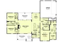 Farmhouse Floor Plan - Main Floor Plan Plan #430-233