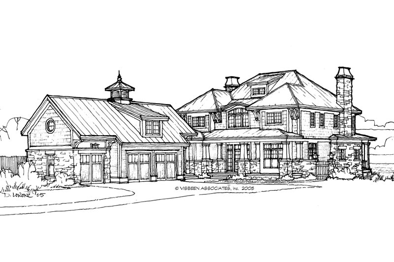 Craftsman Exterior - Front Elevation Plan #928-7 - Houseplans.com