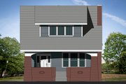 Craftsman Style House Plan - 3 Beds 2.5 Baths 2175 Sq/Ft Plan #461-68 Exterior - Front Elevation