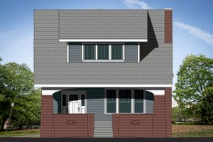 Craftsman Exterior - Front Elevation Plan #461-68