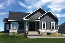 Ranch Exterior - Front Elevation Plan #23-2616