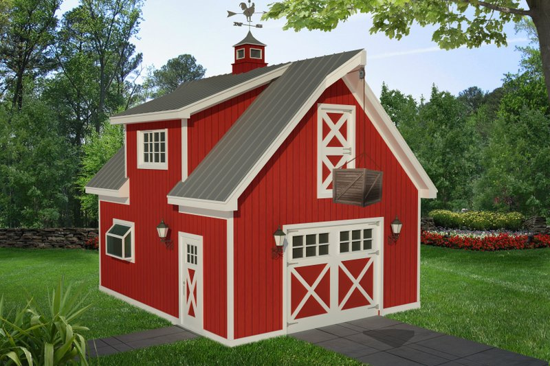 Dream House Plan - Country Exterior - Front Elevation Plan #932-230
