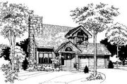Modern Style House Plan - 3 Beds 2.5 Baths 1556 Sq/Ft Plan #320-101 Exterior - Other Elevation
