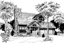 Modern Exterior - Other Elevation Plan #320-101