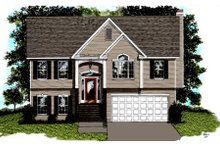 Dream House Plan - Traditional Exterior - Front Elevation Plan #56-102