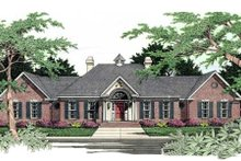 Dream House Plan - European Exterior - Front Elevation Plan #406-170